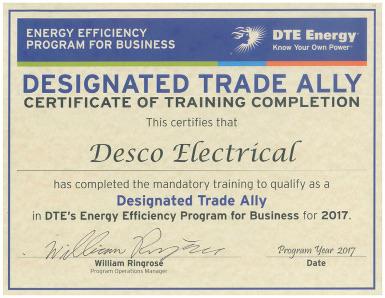 DESCO_DTE_Trade_Ally_Cert